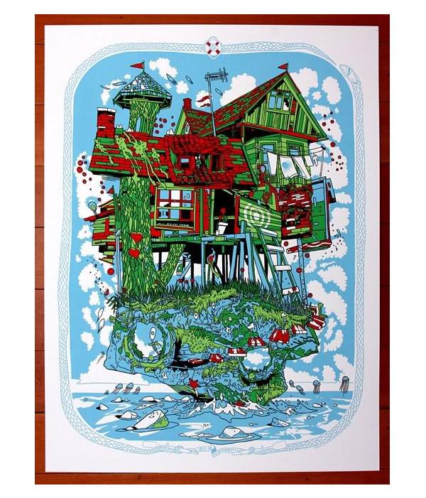 Isle of Bestemor Art Print by Tyler Stout