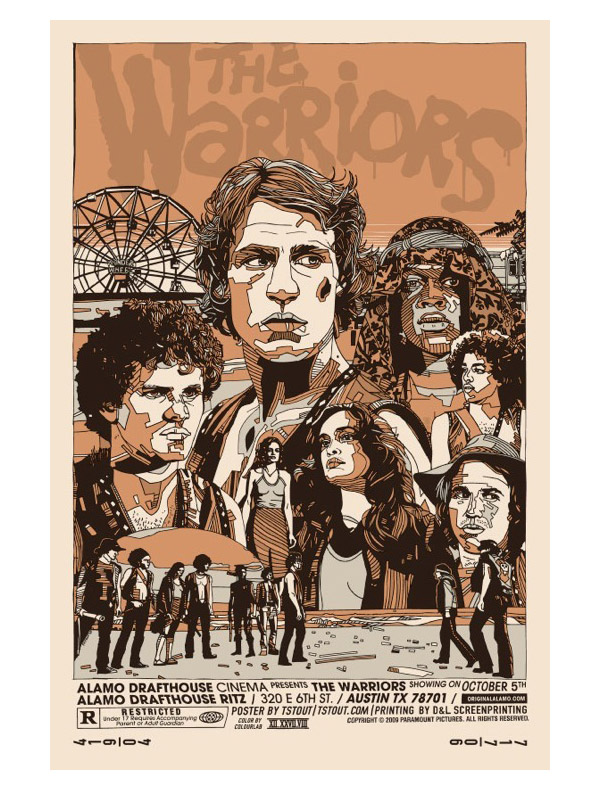 The Warriors Posters by Tyler Stout