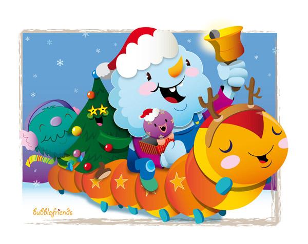 Bubblefriends Christmas by bubblefriends