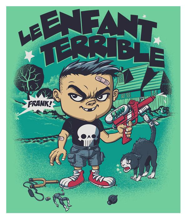 L'Enfant Terrible by Rubens Scarelli