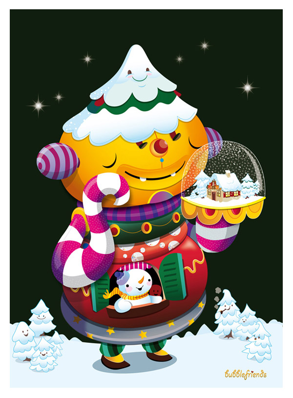 Season Greetings by Sascha Preuss