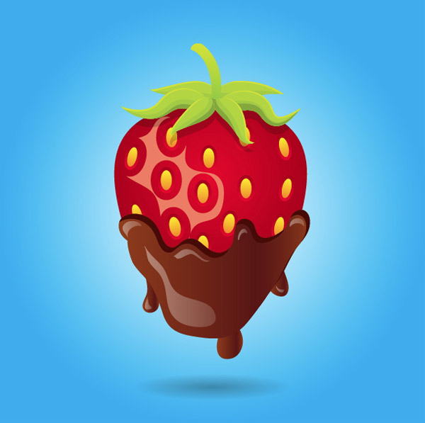 Create A Mouthwatering Chocolate Covered Strawberry - Adobe ...