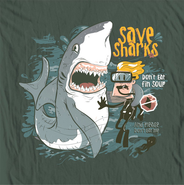 Save Sharks by gums