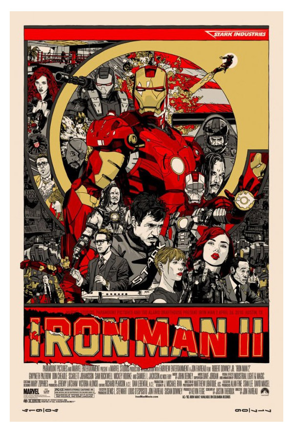 Iron Man II by Tyler Stout