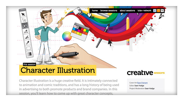 Creative Sessions: Character Illustration