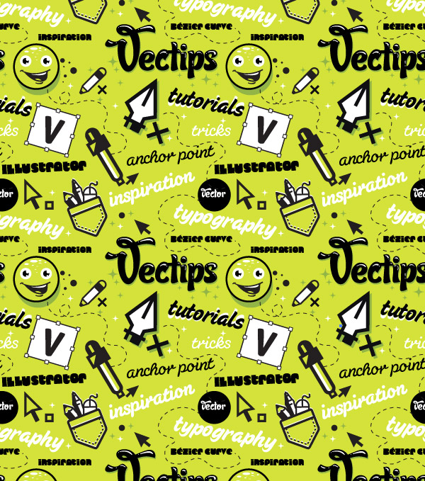 Create A Trendy Seamless Type Pattern Vectips Simple How To Make A Seamless Pattern In Photoshop