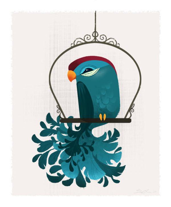 birdie blue