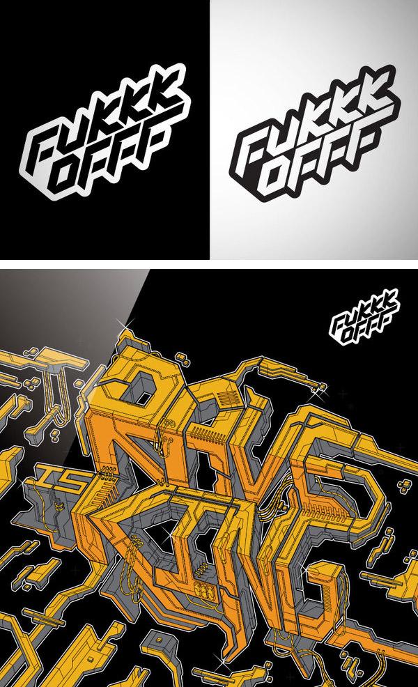 Fukkk Offf by Pawel Pietryka