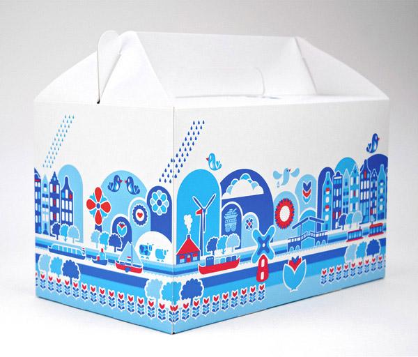 World Expo Shanghai, Food Packaging Dutch Pavilion by Mattmo