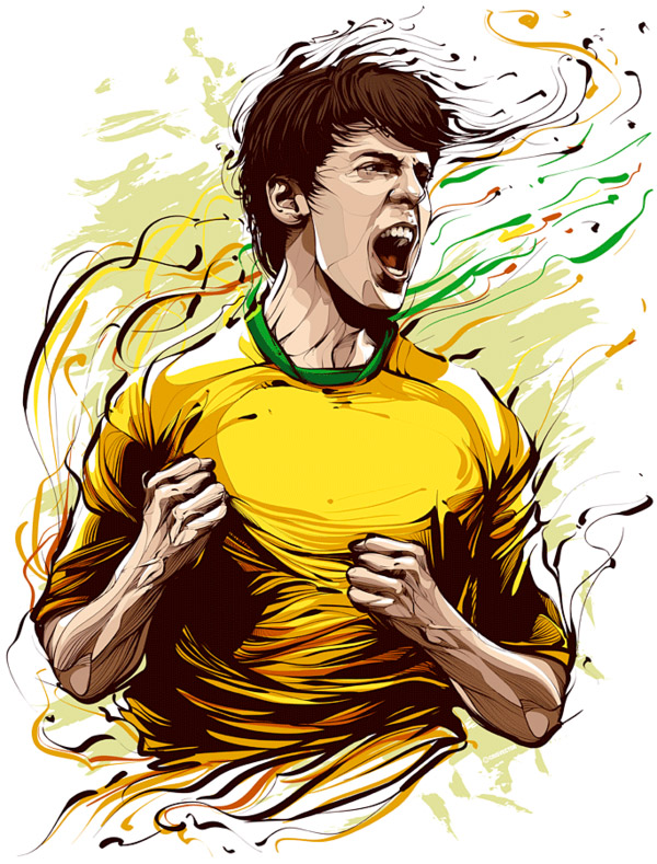 Kaka - fooball player by Cristiano Siqueira
