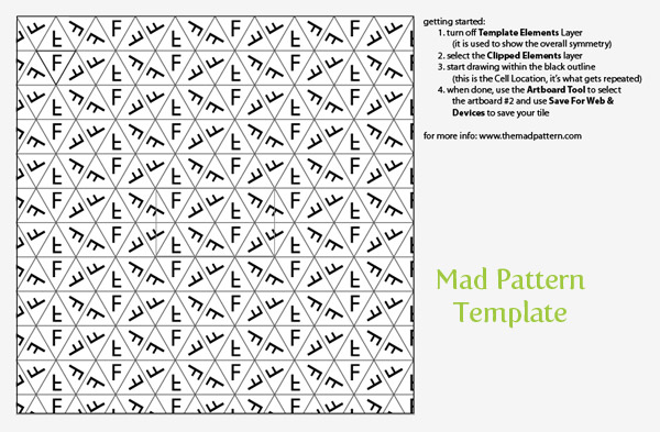 Mad Pattern Template