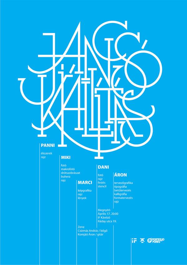 jancsó kiállítás / exhibition poster by mil3n