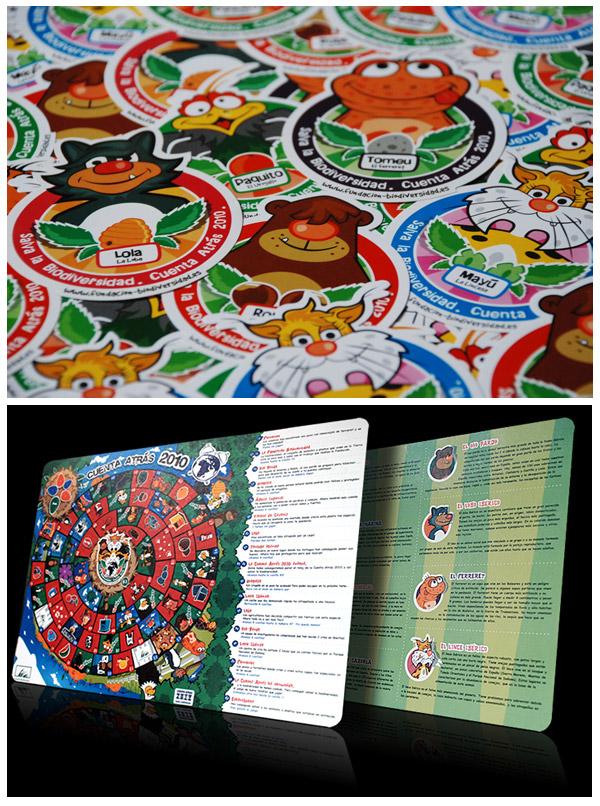 Fundación Biodiversidad characters & merchandise by Ian Wrigglesworth