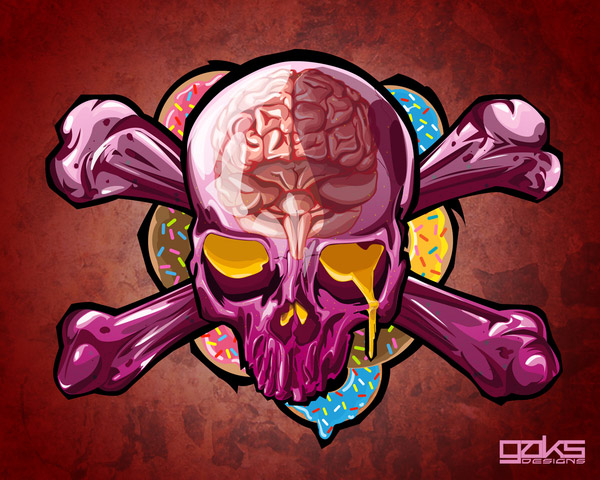Skull Candy Delight by Gaks Designs