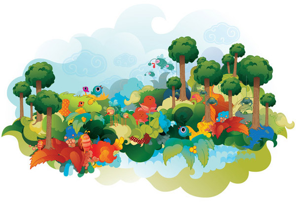 Weekly vector inspiration 75 vectips for Garden of eden xml design pattern