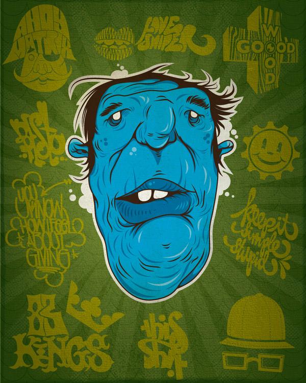 HEAD! WADUP? by david cuesta