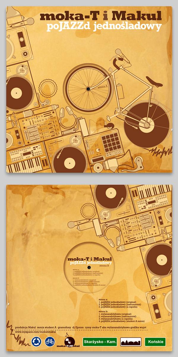 moka-t / makul - vinyl cover by Julian Wierzchowski