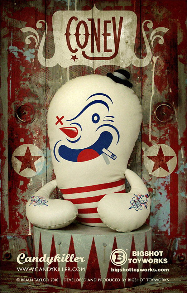 Coney Plush by Brian Taylor