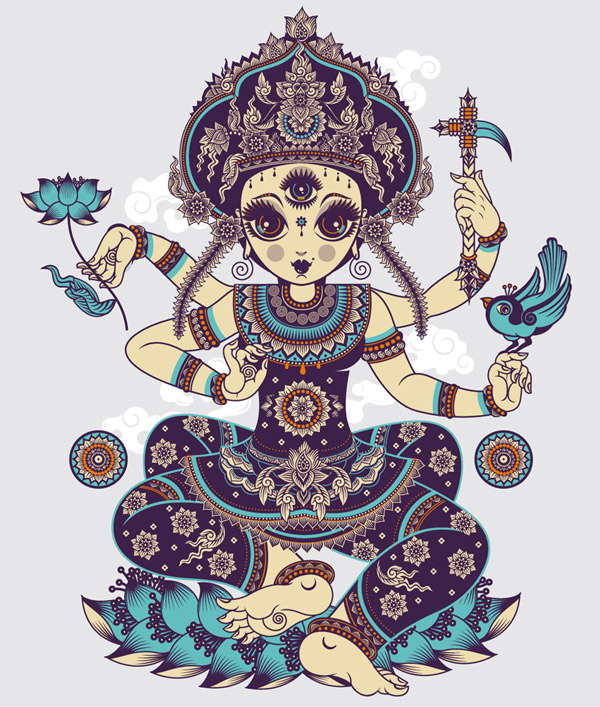 Indonesian goddess by lou
