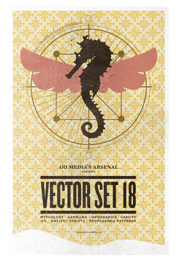 Iconic poster - Vector Set 18 by gomedia