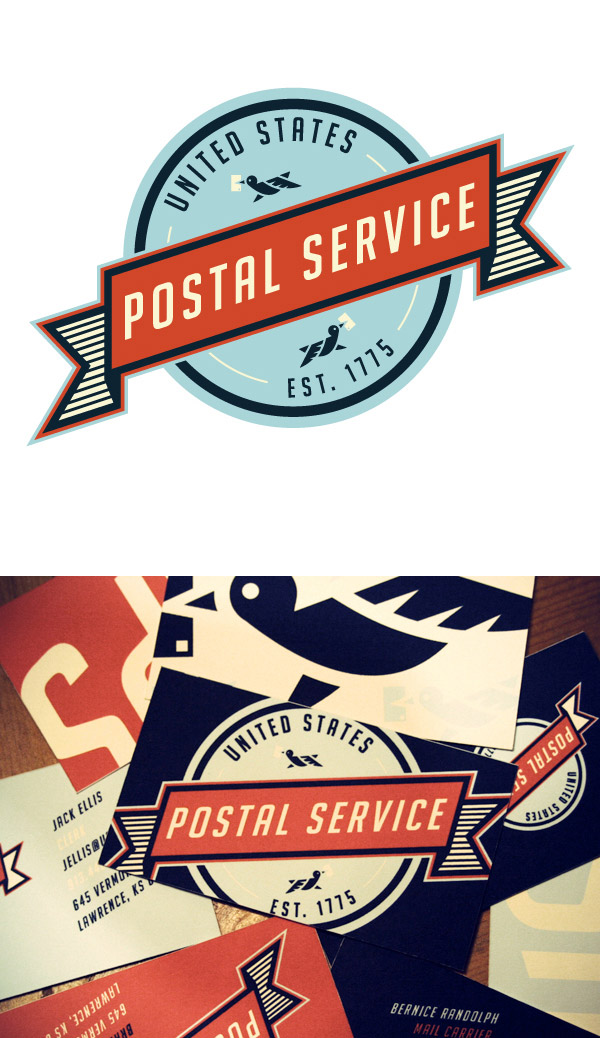 United States Postal Service Re-Branding by Matt Chase