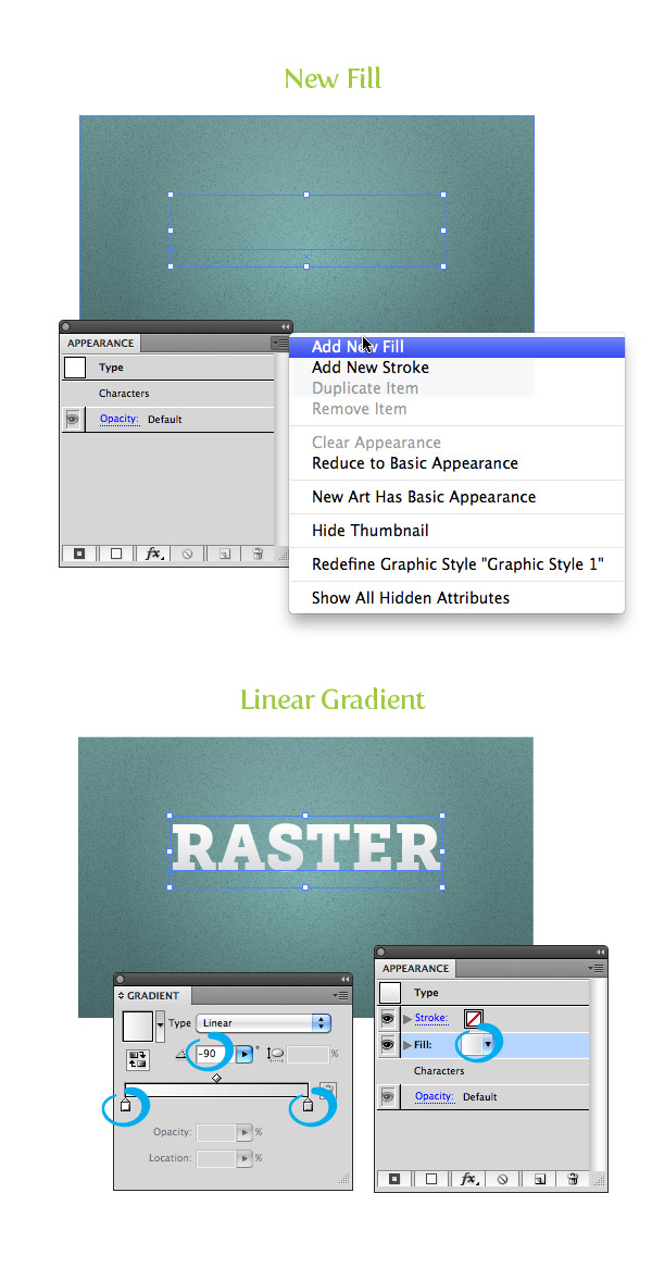 Raster Texture Step 7
