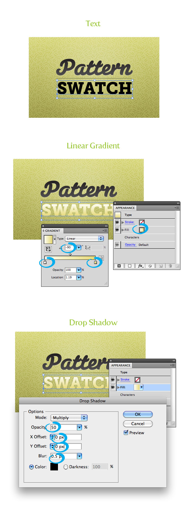 Pattern Fill Texture Step 6