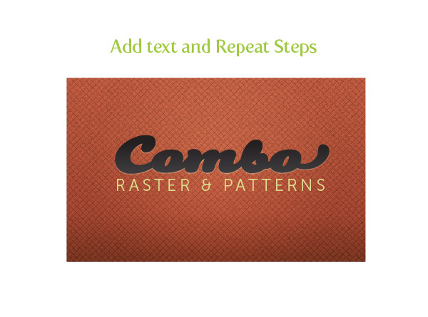 Combo Texture Step 3