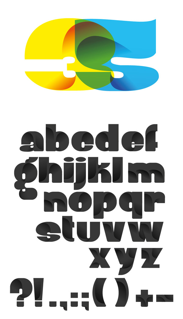 Robu Bold Typeface by Andrei D. Robu
