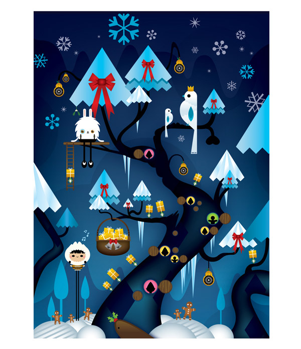 Xmas cards by RAMIRO TORRES