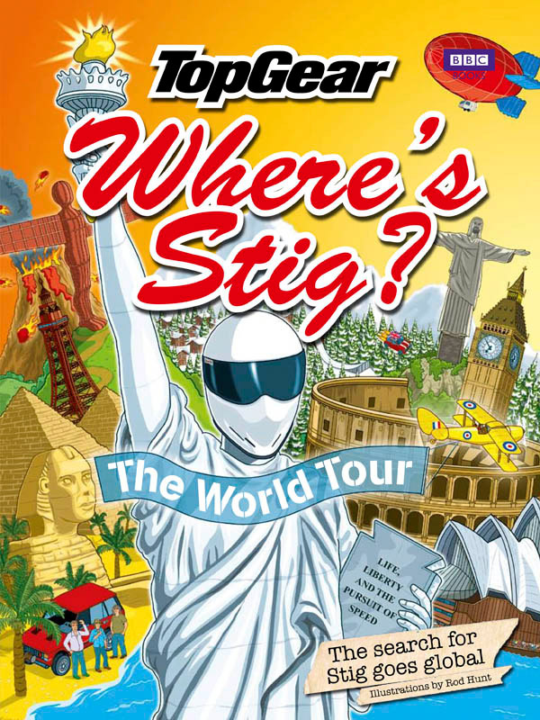 Where's Stig? The World Tour by Rod Hunt