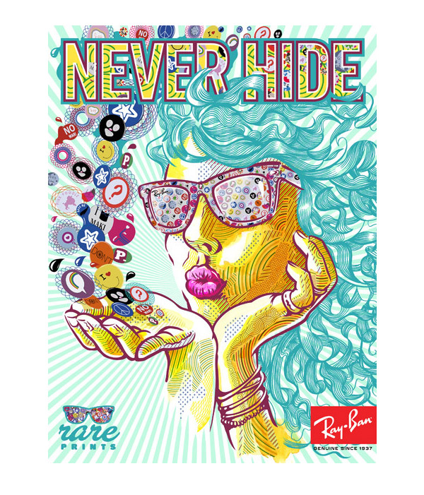 Ray Ban Rare Prints by Eric van den Boom