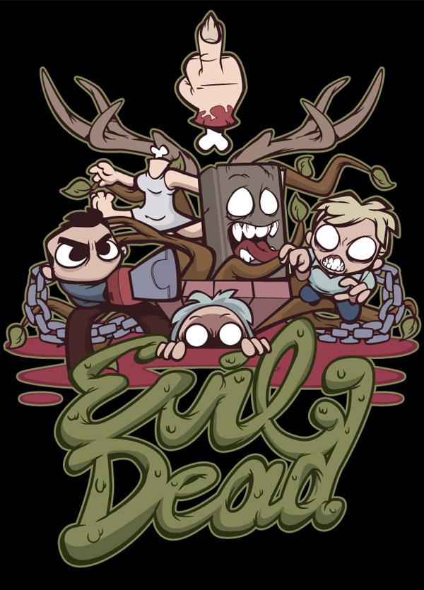 Evil Dead by Nik Holmes