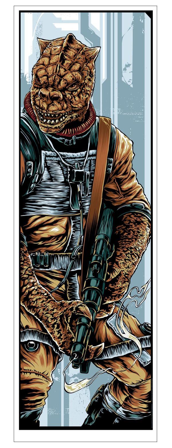 Bounty Hunters Prints by Ken Taylor's