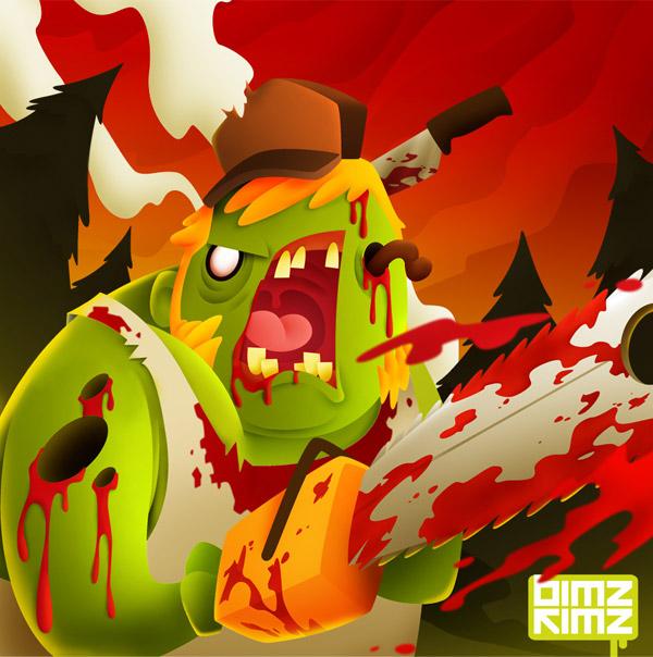 Zombie Fest by bimz kimz