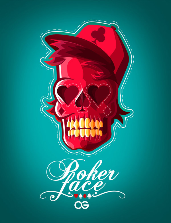 Poker face by AndresThePhoenix