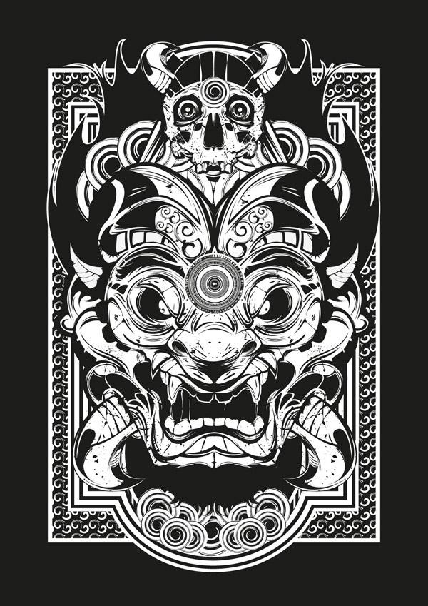 DBCW / Poster Serie 0.1 by Julien Tourdot