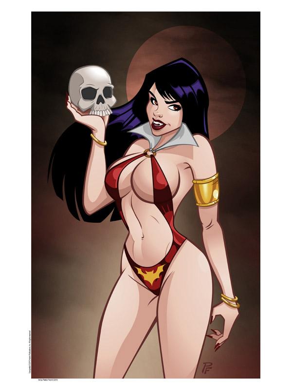 Vampirella by 1nch