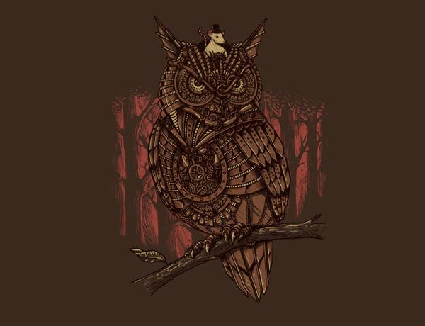 Mechanic-owl King by Alex Solis
