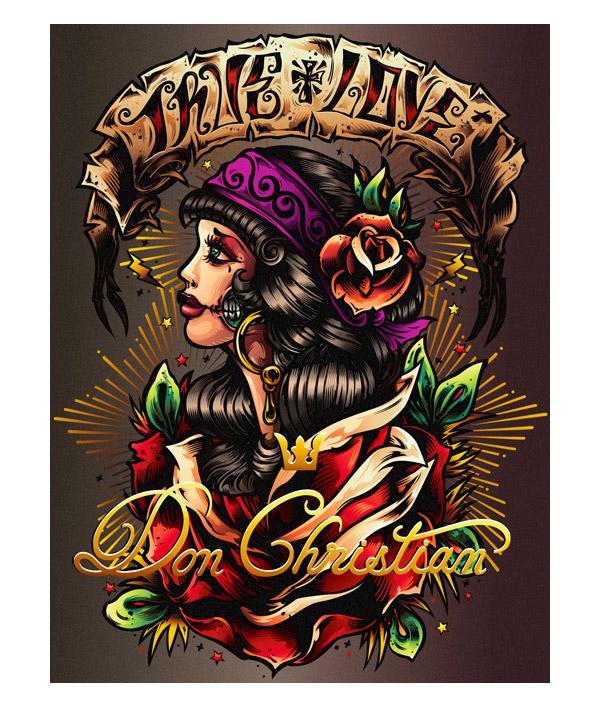 Lady true love by Spanky art as a weapon