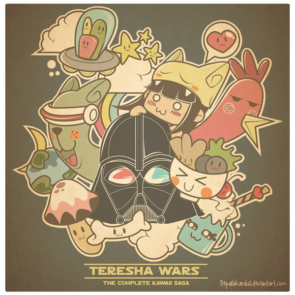 Teresha Wars by kepalakardus