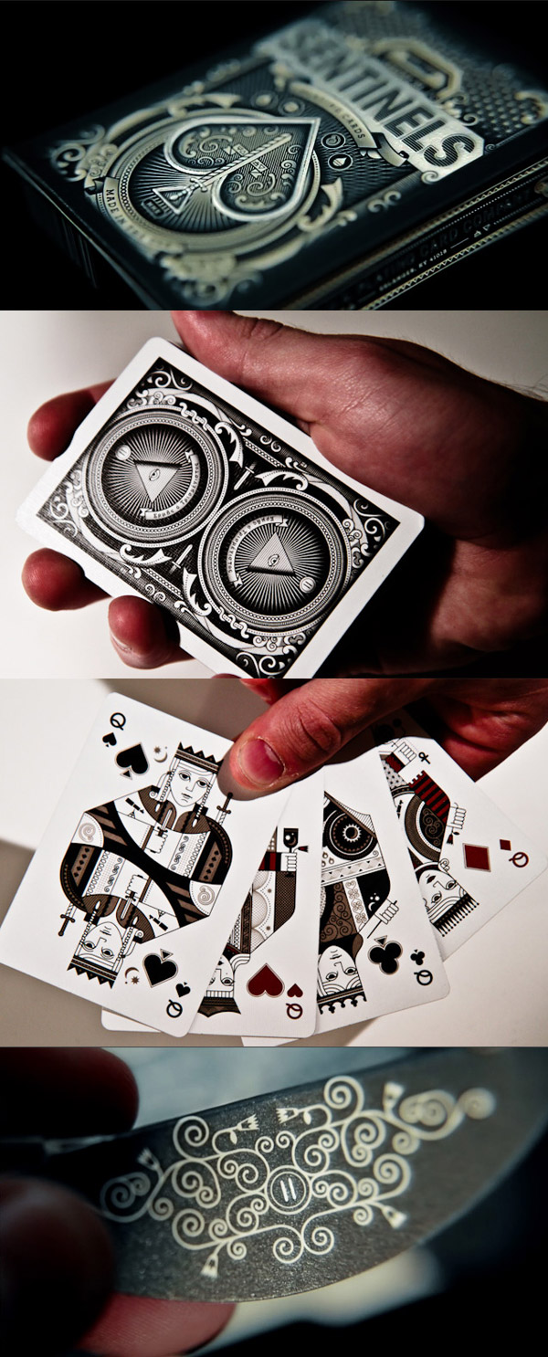 Sentinels - Playing Cards by theory11