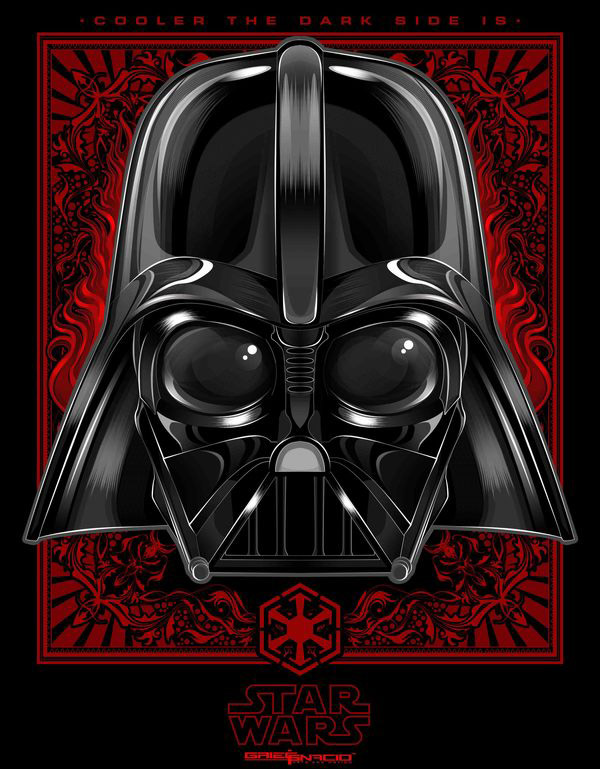 Cooler the dark side is. by Griegg Ignacio