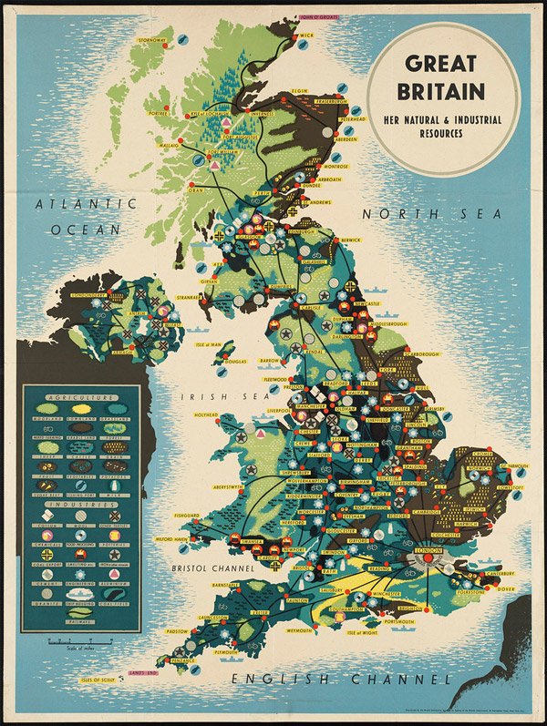 Great Britain. Her natural and industrial resources by Boston Public Library