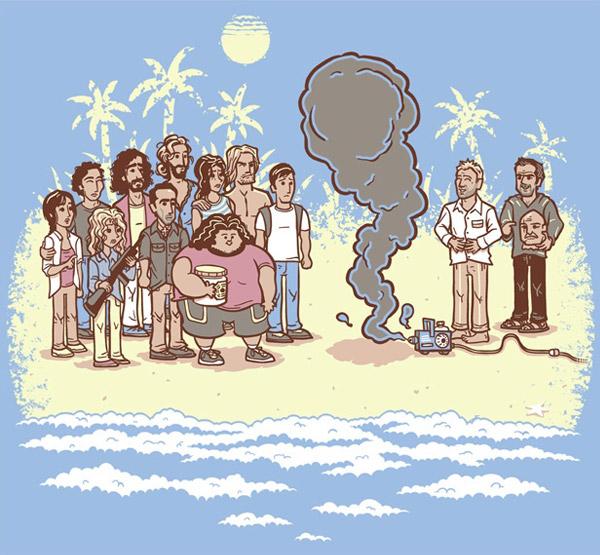 Island Reunion by Spiritgreen