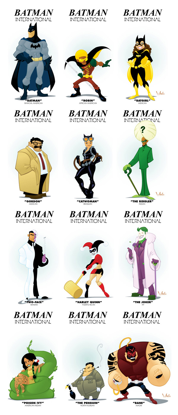 Batman International by Wardell Brown