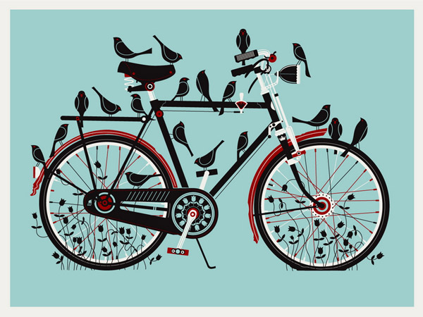 Birdcycle by Methane Studios