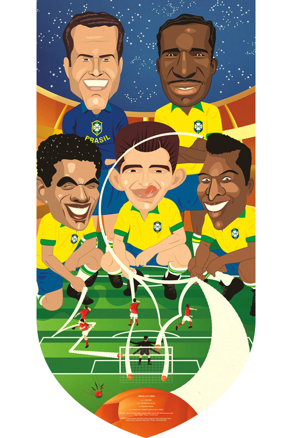 Brasil 2x0 URSS Submitted by Daniel Klein