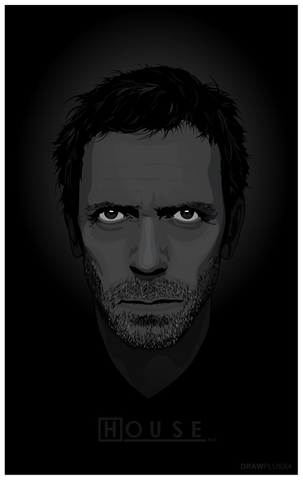 HOUSE - Gregory House M.D. Submitted by Neil J
