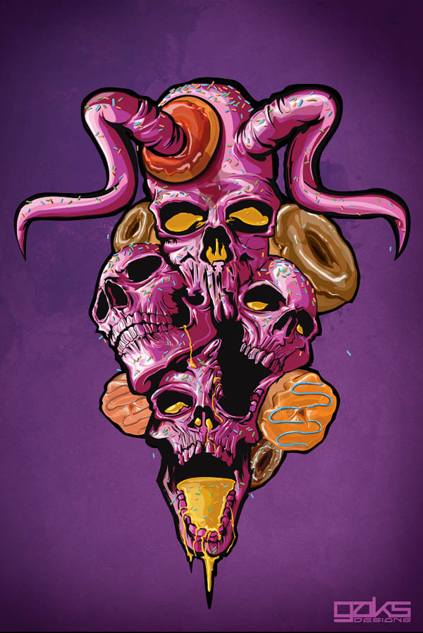 Skull Candy Extravaganza Submitted by Gaks Designs